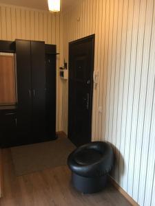 A bathroom at Apartment Izhorskogo Batalyona 11