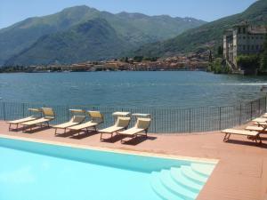 Het zwembad bij of vlak bij Hotel Regina