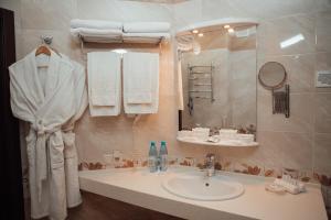Ванная комната в Green Hall Hotel