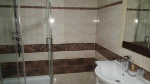 A bathroom at Hotel Kotva