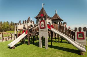 Children's play area at Grand Nosalowy Dwór