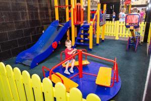 Children's play area at Pansionat UNDERSUN Vytazevo