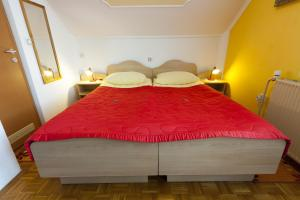 A bed or beds in a room at Rooms & Apartments Jana