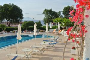 The swimming pool at or near Kokalakis Hotel