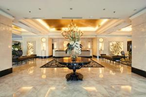 The lobby or reception area at The Papandayan