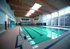 The swimming pool at or near DCU Apartments
