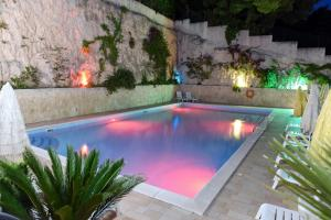 The swimming pool at or near Hotel Timiama