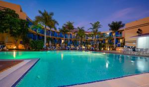 The swimming pool at or near Blue Sea Jandia Luz