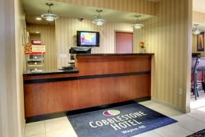 The lobby or reception area at Cobblestone Hotel - Wayne