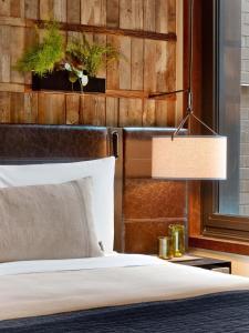 1 ホテル セントラル パークにあるベッド