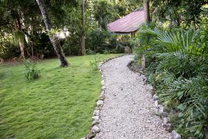 A garden outside Posada del Cerro