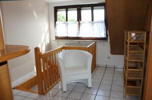 A seating area at Ferienwohnung bei Inge und Heinz