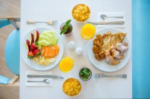 Opciones de desayuno disponibles en Iberostar Founty Beach
