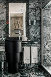 Salle de bains dans l'établissement Aparthotel Arai 4* Superior