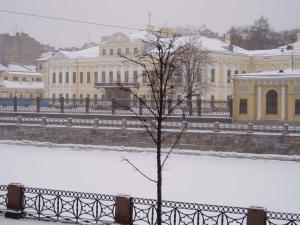 Фонтанка Инн зимой