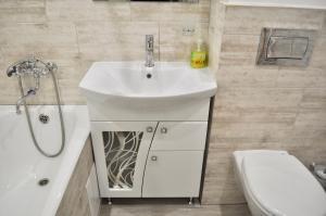 Ванная комната в DailyRent Moskovsky