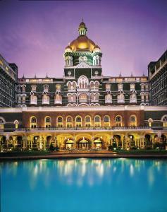 The swimming pool at or close to The Taj Mahal Tower Mumbai