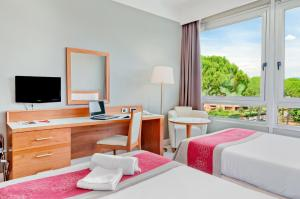 TV o dispositivi per l'intrattenimento presso Italiana Hotels Florence