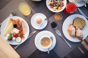 Frühstücksoptionen für Gäste der Unterkunft Hotel Torgglhof