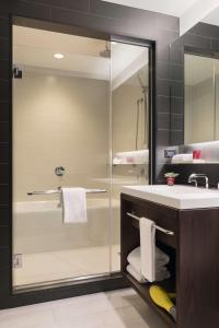 A bathroom at Hyatt Centric Times Square New York