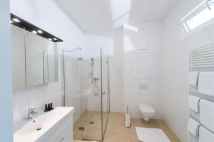 Ein Badezimmer in der Unterkunft Ferien am Kurpark
