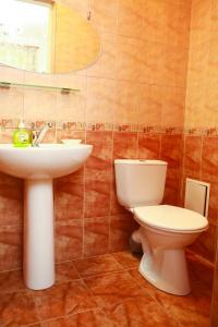 Ванная комната в Hotel Love Story
