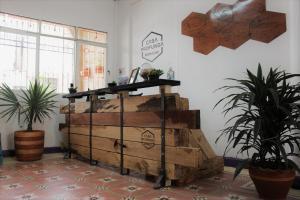 Hall ou réception de l'établissement Casa Profunda Hostel