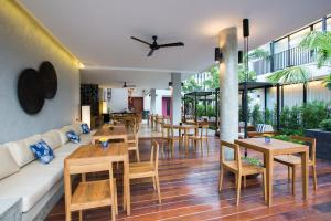 A restaurant or other place to eat at Asira Boutique HuaHin
