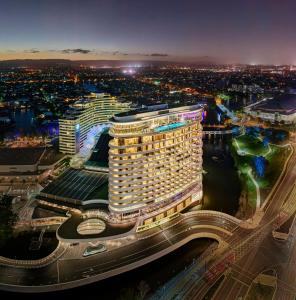 A bird's-eye view of The Darling at The Star Gold Coast