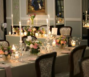 A restaurant or other place to eat at Ivory Manor Boutique Hotel