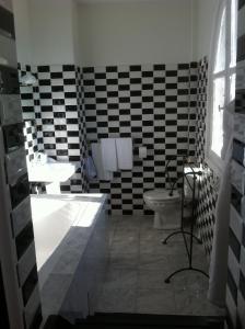 Ванная комната в Hotel Ermitage