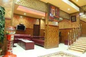 The lobby or reception area at Emirates Plaza Hotel