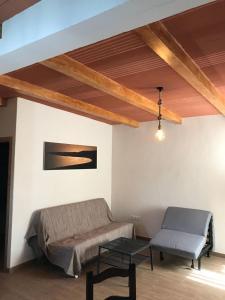 Ein Sitzbereich in der Unterkunft El Rancho