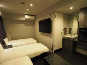 TV o dispositivi per l'intrattenimento presso Haneda Inn