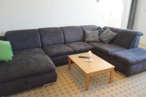 Ein Sitzbereich in der Unterkunft Ferienwohnung Rossberg