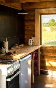 Köök või kööginurk majutusasutuses Northern Zen
