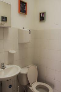 Salle de bains dans l'établissement Casa Profunda Hostel