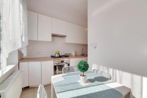 Kuchnia lub aneks kuchenny w obiekcie Dream Loft Rajska
