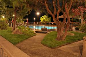 The swimming pool at or near The Lodge at Riverside