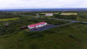 A bird's-eye view of Dettifoss Guesthouse