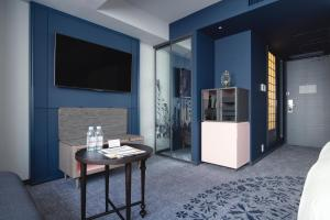 A television and/or entertainment center at Mercure Tokyo Ginza