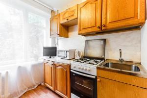 Кухня или мини-кухня в InnDays on Sevastopolskaya