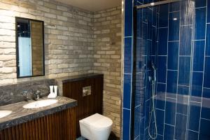 A bathroom at Malmaison Manchester