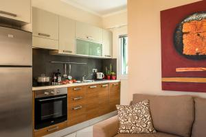 Cucina o angolo cottura di Aktes villas