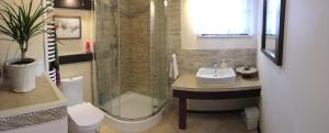 A bathroom at Pensjonat Pod Orzechami