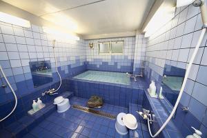 A bathroom at Hakuba Sun Valley Hotel