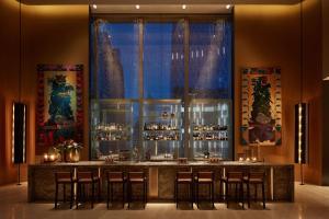 The lounge or bar area at Park Hyatt Bangkok
