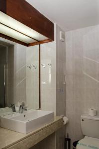 A bathroom at Rodon Hotel and Resort