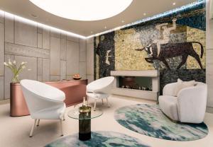 Łazienka w obiekcie Raffles Europejski Warsaw