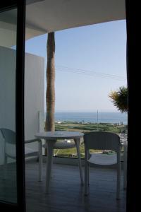 Een balkon of terras bij Hotel Salambina